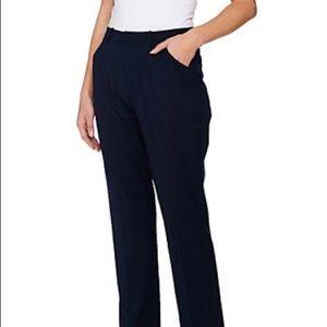 G.I.L.I. Got it Love it. Navy flared trousers Sz 0